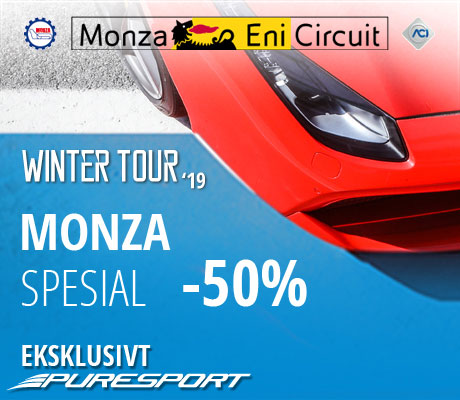 Winter Tour Monza spesial -50%