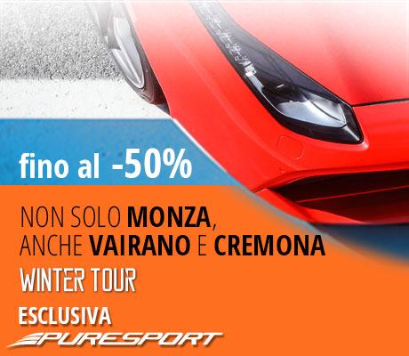 Winter Tour Speciale Monza -40%