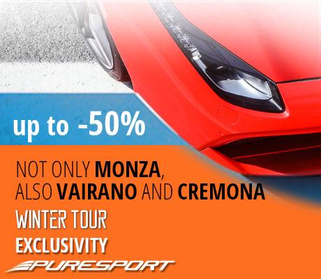Winter Tour Monza spesial -40%