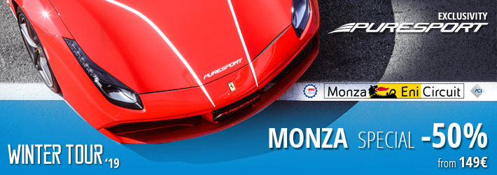Winter tour Monza special -50%