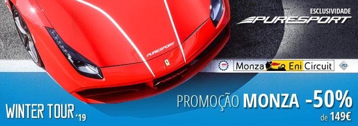 Promoção de Inverno  Monza -50%