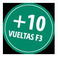+ 10 giri F3