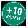 + 10 voltas F3