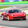 Try a Ferrari 458 Italia on racetrack with Puresport in Varano