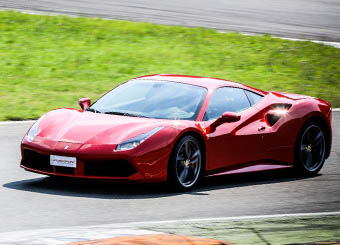Try a Ferrari 488 GTB on racetrack with Puresport in Hockenheimring