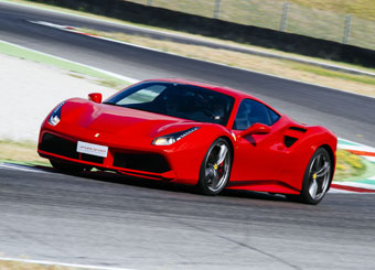 Drive a Ferrari 488 GTB in Mugello with Puresport
