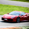 Try a Ferrari 488 GTB on racetrack with Puresport in Viterbo