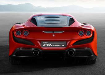 Laps on Ferrari F8 Tributo in Spa-Francorchamps with Puresport