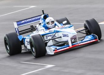 Laps on Formula 1 in Tazio Nuvolari with Puresport