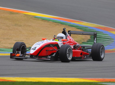 Laps on Formula 3 in Adria with Puresport