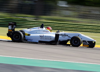 Try a Formula 3 F316 Dallara on racetrack with Puresport in Vallelunga