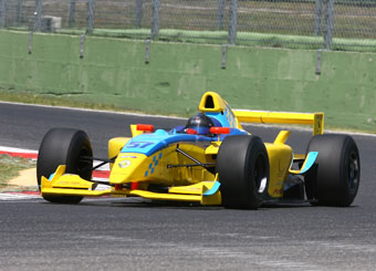 Drive a Formula Nissan 3000 in Vallelunga with Puresport