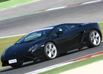 Giri di pista su Lamborghini Gallardo a Vallelunga con Puresport