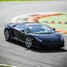Try a Lamborghini Gallardo on racetrack with Puresport in Viterbo