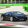 Laps on Lamborghini Gallardo in Viterbo with Puresport