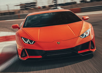 Drive a Lamborghini Huracán EVO in Tazio Nuvolari with Puresport