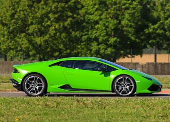 Conduzca un Lamborghini Huracán en Vairano con Puresport