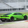 Try a Lamborghini Huracán on racetrack with Puresport in Viterbo