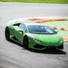 Laps on Lamborghini Huracán in Viterbo with Puresport