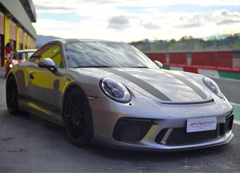 Laps on Porsche 911 GT3 in Hockenheimring with Puresport