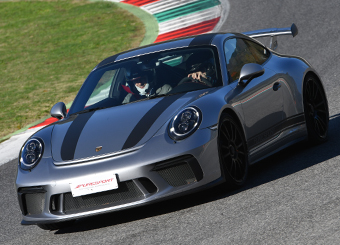 Drive a Porsche 911 GT3 in Vallelunga with Puresport