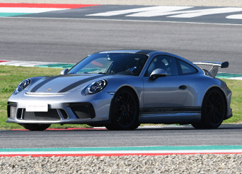 Try a Porsche 911 GT3 on racetrack with Puresport in Vallelunga